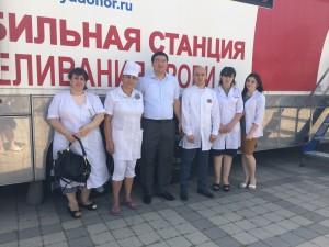 В ауле Хабез Хабезского района Карачаево-Черкесии прошел «день донора»